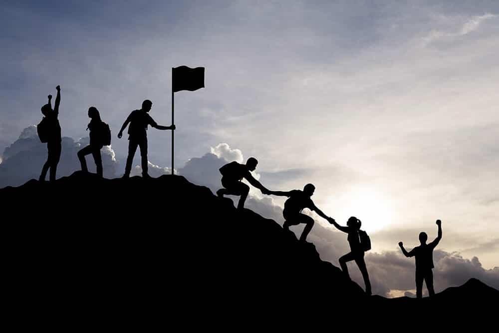 Ich zeige dir, wie du diene Ziel erreichst, indem du deine Herausforderungen angehst und deinen Berg besteigst und dein Ziel erreichst.